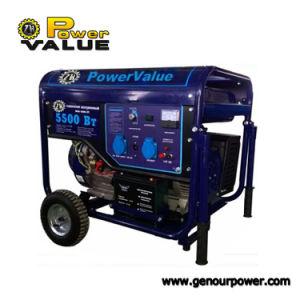 Бензиновый генератор 4 квт бензиновый генератор установлен бензин передвижных генераторов