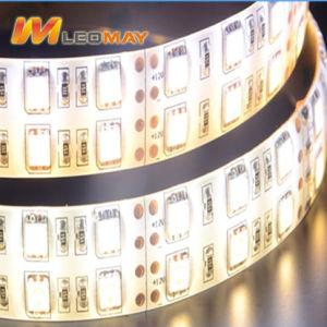 SMD 5050 de alta potencia de 28,8 W doble tira de luces LED blanco.