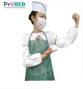 Coperchio a gettare monouso medico/chirurgico/del ristorante/hotel/locale senza polvere/servizio ristoro NonWoven/PP/CPE/Plastic/PE del manicotto