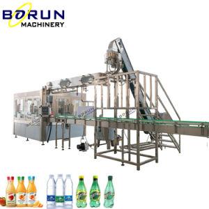 500ml volledige Automatische Plastic van het Huisdier van de Fles Zuivere van het Water Vloeibare het Vullen en van de Verpakking Machine