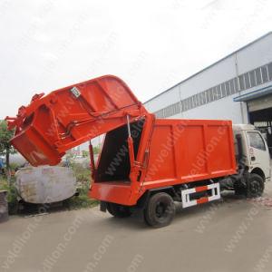 Duolika 4X2 VEÍCULO de saneamento e de transporte de lixo para venda
