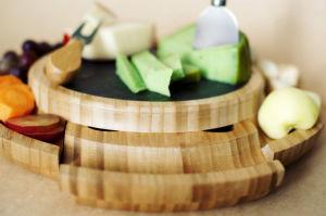 La Junta de queso, embutidos Ronda Junta saque el cajón de utensilios de cocina