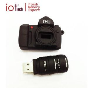 USB reso personale dell'azionamento 8GB della penna del USB del PVC di figura della macchina fotografica