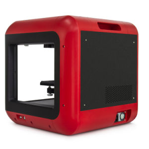 Fdm digital de nivel básico de la impresora 3D con pantalla táctil a color
