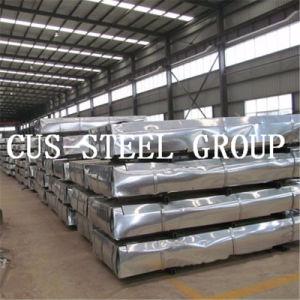 L'Éthiopie SGS recouvert de zinc galvanisé ondulé/la plaque de tuile en acier galvanisé