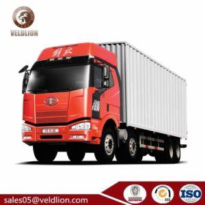 FAW 4X2 35 톤 Box Cargo 밴 Truck