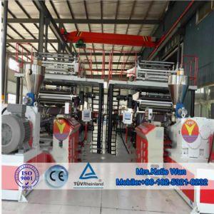 機械を作る石造りのプラスチック合成物Spcの防水フロアーリングの押出機
