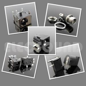 Plastica del nero della spina di CC Jack 2.0mm elettrica