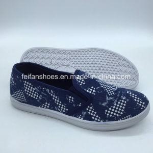 Venta caliente niños Zapatos de lona Zapatos Zapatos de Skate (ZL0425-6)