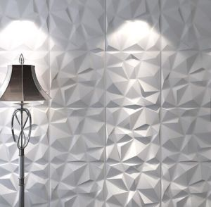Karsten décoration murale moderne 3D Carte PVC Décoration maison Panneau mural