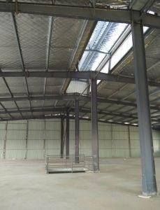 Grúa prefabricados, Ingeniería de Edificación y bastidor de la estructura de acero