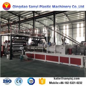 最上質の抗菌性のプラスチックSpcフロアーリングの板の押出機の機械装置