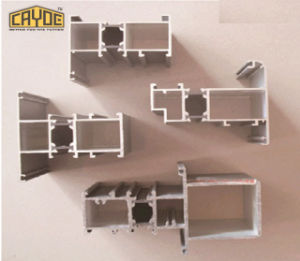 Profilo di alluminio personalizzato del blocco per grafici di finestra della stoffa per tendine