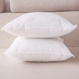 100% algodón almohada de cuello de plumas abajo