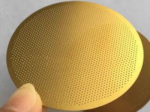 Disque filtrant perforé en acier inoxydable