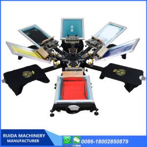 마이크로 등록을%s 가진 기계를 인쇄하는 주문을 받아서 만들어진 6 색깔 6 역 스크린