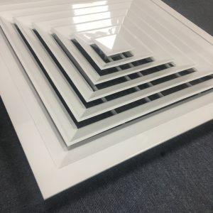 Het Vierkant van de Levering van het aluminium lag in de Delen van de Verspreiders van het Plafond van de Lucht