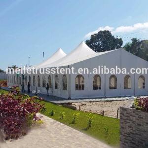贅沢な塔の望楼大きい屋外党イベントの安い玄関ひさしの絶妙で明確なスパン党結婚式の玄関ひさしのキャンバスのテント