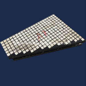 Les plaques de caoutchouc Céramique d'usure composite Société fournisseur