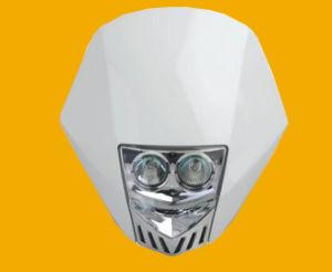 Motorrad-Scheinwerfer-Motorrad-fahrende Lichter/Ktm Crf Xr Wrfled UniversalDirtbike/Motorrad-Scheinwerfer (weißes Orange/Schwarzes)