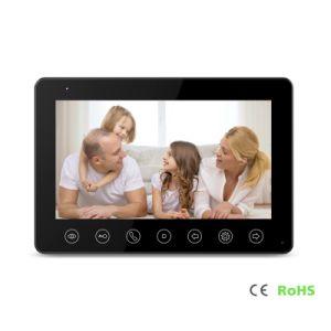 4 draden 7 van het Huis Duim Intercom Doorphone van de Veiligheid van de Video
