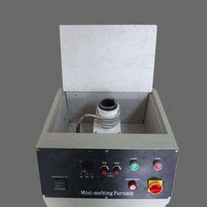 Bewegliche Einschmelzen-Maschinen-kleine Induktions-schmelzender Ofen für Verkauf