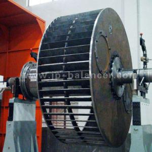 Двойной привод машины для балансировки ротора вентилятора