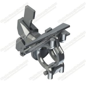 Adaptador de ângulo recto a braçadeira para andaimes Ringlock Cunha
