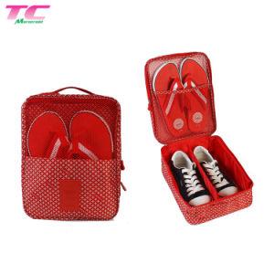 Zapato de almacenamiento de malla de alta calidad con una bolsa de viaje