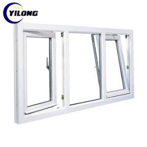 Высокое качество прочные стекла металлические рамы ПВХ дверная рама перемещена UPVC Windows