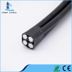 Kabel van de Daling ABC van de Dienst van de Stroom van de Isolatie van de Leider PE/XLPE/PVC van het koper/van het Aluminium de Verdraaide Lucht
