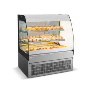 La pantalla de 1200mm armario refrigerador vitrina de la Panadería los equipos de refrigeración