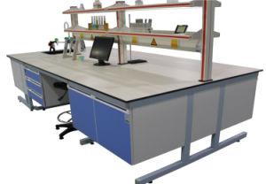 Mobilia di legno del laboratorio del C-Blocco per grafici con la mensola del reagente (JH-WF024)