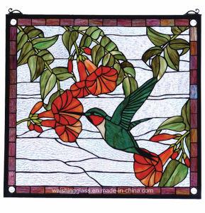 Fenêtre d'art décoratif de la fenêtre style Tiffany Vitrail