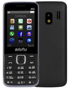 GSMの低価格の1.77インチGSM SIMのカードの年長の電話Facebook大きいキーボード携帯電話