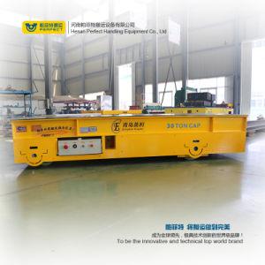 De Aanhangwagen van het Vervoer van de Wielen van Mecanum Geen Kar van de Overdracht van het Spoor op Cement