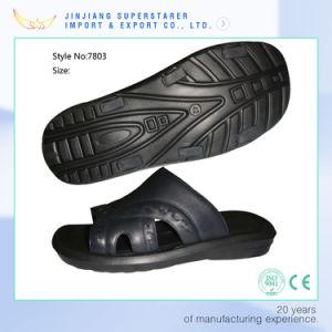 Les hommes noirs durable EVA Pantoufles, Classic Cheap pantoufles
