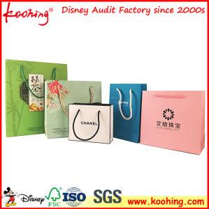 La lamination sac cadeau personnalisé Papier cosmétiques en provenance de Chine usine
