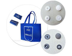 Botões de mola de plástico de pano de saco, 10-16mm
