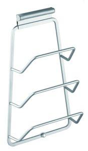 21213 / 21313 Aluminio espacio de rack de olla de cocina