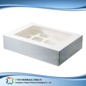 Plegado de papel caja de embalaje de alimentos/// PASTEL DE CHOCOLATE Caramelo (XC-fbk-010)
