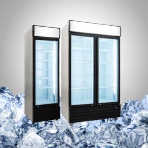 Congelatore di frigorifero della vetrina per alimento e la bevanda
