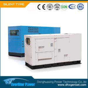 Leise Genset Electeic Energie, die gesetzter Dieselgenerator-schalldichte Sets festlegt