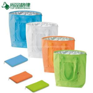 Kundenspezifischer haltbarer faltbare Mittagessen-Beutel-Nahrungsmittelabkühlender Isolierbeutel