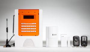 Aolin- Sistema de Alarma GSM de infrarrojos, magnético, el control remoto, SMS de alarma, sistema de control remoto móvil, teléfono móvil los sitios de monitoreo
