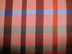 Polyester-Garn-gefärbtes Check-Gewebe für Kleid-Gebrauch