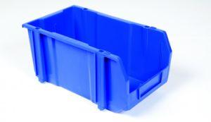 収納箱、スタック可能プラスチック収納用の箱(PK002)