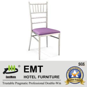 Chaise empilable de banquet argenté professionnel (EMT-806)