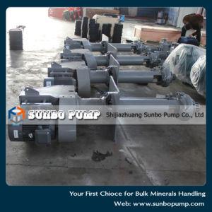 Pompe verticali centrifughe dei residui della laveria del carbone