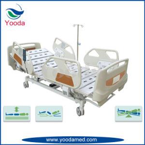 Cinq luxueux lit électrique de la fonction de l'hôpital